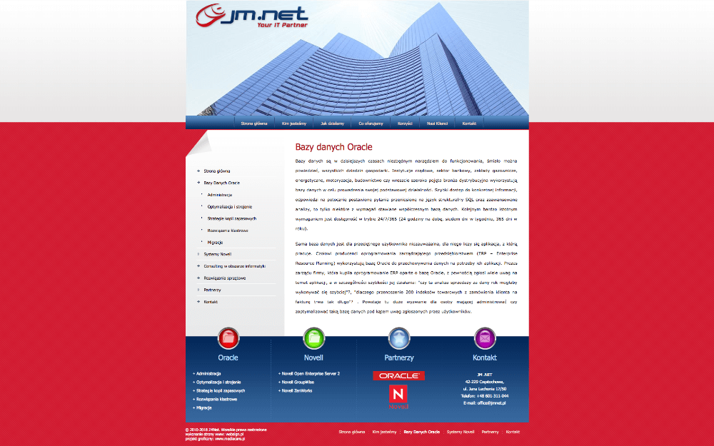 JM.NET company website